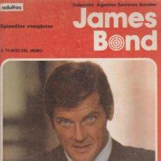 Cómics: AGENTES SECRETOS BURU LAN. JAMES BOND Nº 1. A TRAVÉS DEL MURO. (120 PP.) 1974.. Lote 33127737