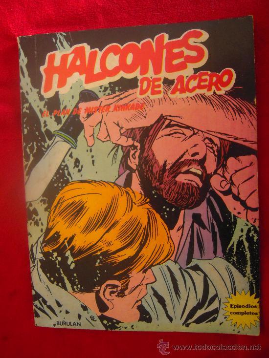 EL PLAN DE MISTER KINKADE - RUSTICA - CONTIENA 4 EPISODIOS (Tebeos y Comics - Buru-Lan - Halcones de Acero)