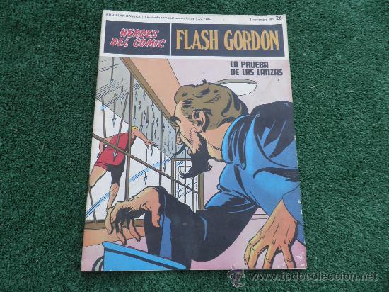 FLASH GORDON FASCICULO Nº 26 BURULAN (Tebeos y Comics - Buru-Lan - Flash Gordon)