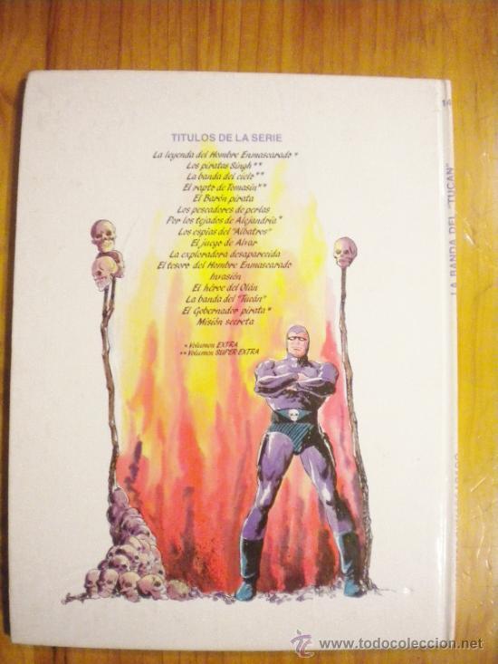 Cómics: El hombre enmascarado La Banda del Tucán - Foto 2 - 33390223