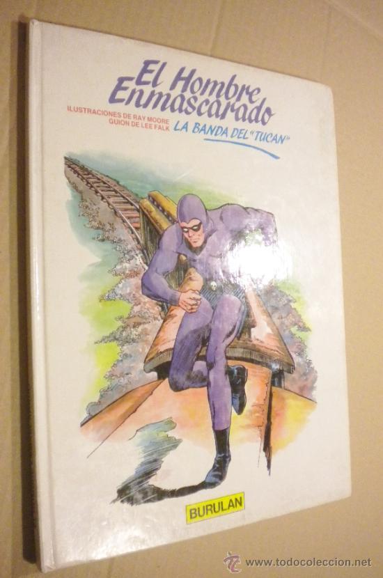 EL HOMBRE ENMASCARADO LA BANDA DEL TUCÁN (Tebeos y Comics - Buru-Lan - Hombre Enmascarado)