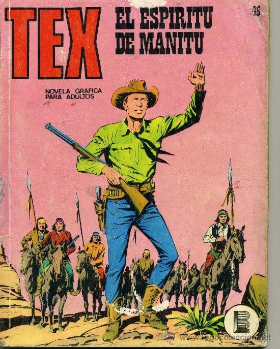 TEX Nº48 (Tebeos y Comics - Buru-Lan - Tex)