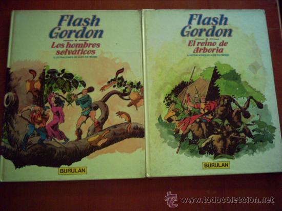 FLASH GORDON . BURU LAN. ALBUMS 6-7 MAS EL 5 DE REGALO. (Tebeos y Comics - Buru-Lan - Flash Gordon)