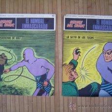Cómics: EL HOMBRE ENMASCARADO FASCÍCULOS NºS 61 Y 62 BURU LAN 1972. Lote 33528412