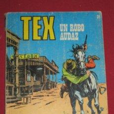 Cómics: TEX - UN ROBO AUDAZ - Nº 34. Lote 33564205