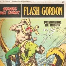 Cómics: 5 NºS DE FLASH GORDON- HEROES DEL COMIC . :011, 012 ,013, 014, 019. -VELL I BELL. Lote 33607495