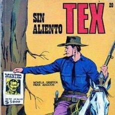 Cómics: TEX - SIN ALIENTO - Nº 20 - PERO CON HOJAS SUELTAS. Lote 33647192
