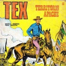 Cómics: TEX - TERRITORIO APACHE - Nº 23 - COMO NUEVO PRACTICAMENTE - 1971. Lote 33647415