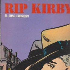 Cómics: RIP KIRBY Nº 1. EL CASO FARADAY. BURU LAN. (80 PÁGINAS). Lote 33664817