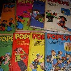 Cómics: 9 TOMOS DE POPEYE, EDITORIAL BURULAN. Lote 34024576
