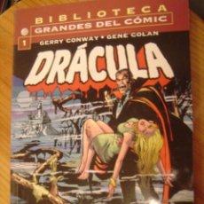 Cómics: BIBLIOTECA GRANDES DEL COMIC DRACULA Nº1. Lote 34092786
