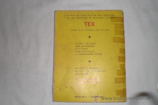 Cómics: TEX Nº 10 - Foto 2 - 34125441