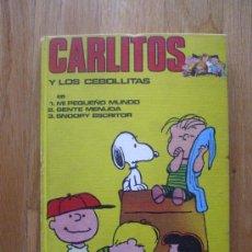 Cómics: CARLITOS Y LOS CEBOLLITAS, TOMO NUMERO 1,. Lote 34139808