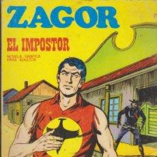Cómics: ZAGOR Nº 21. ( 25 PTAS - 96 PÁGINAS) BURU LAN 1971.. Lote 34313045