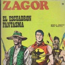 Cómics: ZAGOR Nº 20. ( 25 PTAS - 96 PÁGINAS) BURU LAN 1971.. Lote 34313100