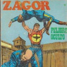 Cómics: ZAGOR Nº 14. ( 25 PTAS - 96 PÁGINAS) BURU LAN 1971.. Lote 34313452