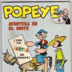 Cómics: -58464 POPEYE Nº 6, AVENTURA EN EL OESTE, EDICIONES BURU LAN, AÑO 1971. Lote 38640447
