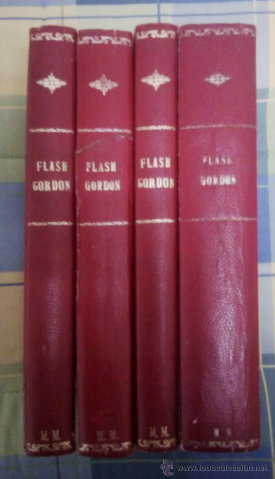 FLASH GORDON M.M. 4 TOMOS. (Tebeos y Comics - Buru-Lan - Flash Gordon)