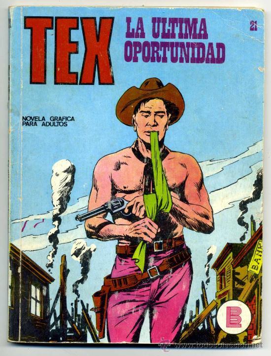 TEX NUM 21 (Tebeos y Comics - Buru-Lan - Tex)
