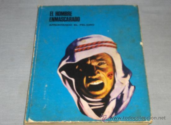 HOMBRE ENMASCARADO TOMO Nº 5. BURU LAN 1972. DIFÍCIL!!!!!!!!!!! (Tebeos y Comics - Buru-Lan - Hombre Enmascarado)