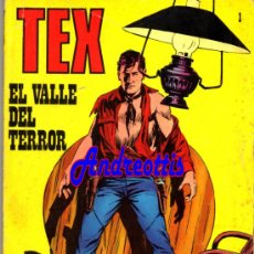 Cómics: TEX Nº 1 EDITORIAL BURU LAN. TITULO: EL VALLE DEL TERROR. Lote 34756693
