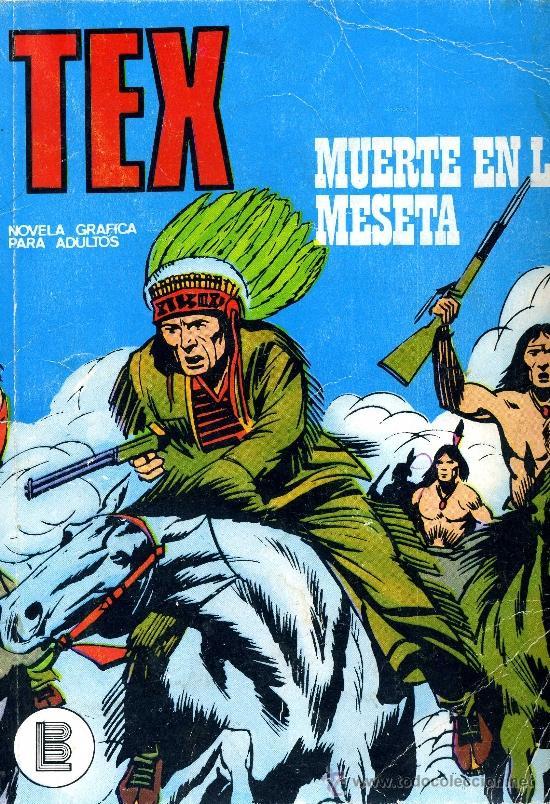 TEX Nº45 (Tebeos y Comics - Buru-Lan - Tex)
