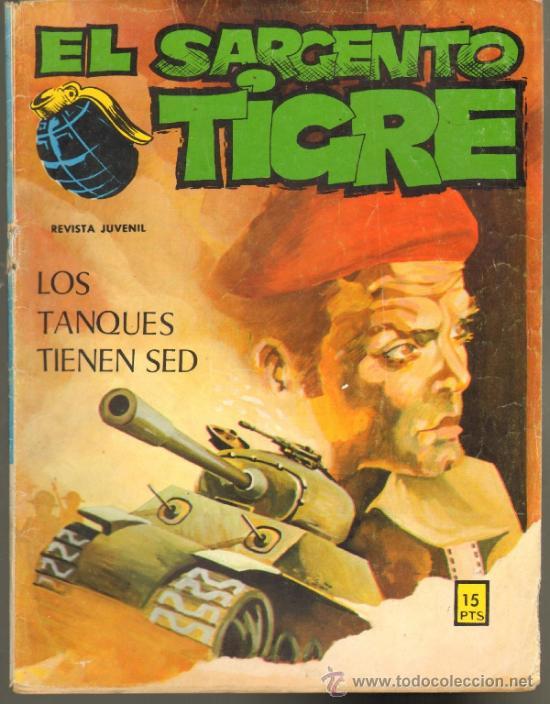 TEBEOS-COMICS GOYO - SARGENTO TIGRE - Nº 58 - ED. VILMAR *CC99 (Tebeos y Comics - Buru-Lan - Otros)