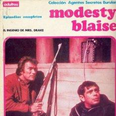 Cómics: MODESTY BLAISE RETAPADO EL INGENIO DE MRS. DRAKE. Lote 35309514