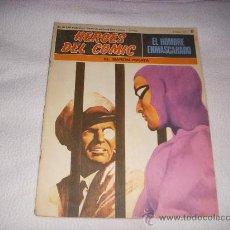 Cómics: HEROES DEL COMIC, EL HOMBRE ENMASCARADO Nº 6, EDITORIAL BURULAN. Lote 35383152