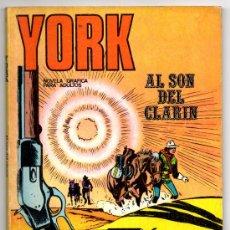 Cómics: YORK Nº 1 (BURU LAN 1971). Lote 35423661