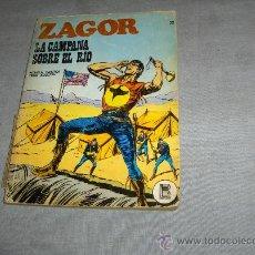 Cómics: ZAGOR Nº 22 BURULAN 1972. 25 PTS. LA CAMPANA SOBRE EL RÍO.. Lote 35667096