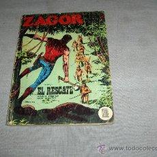 Cómics: ZAGOR Nº 32. BURU LAN 1972. 25 PTS. EL RESCATE.. Lote 35667190