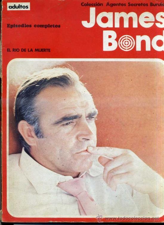 JAMES BOND : EL RÍO DE LA MUERTE / LA ESTRELLA DE FUEGO (BURU LAN) (Tebeos y Comics - Buru-Lan - James Bond)