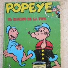 Cómics: POPEYE Nº 2 BURU LAN (1970) ¿2ª EDICION?. Lote 35825615