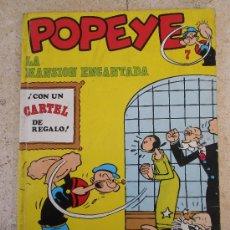 Cómics: POPEYE Nº 7 BURU LAN (1970) 40 PTA. Lote 35825687