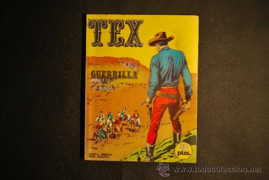 TEX Nº 06 GUERRILLA BURU LAN EDICIONES AÑO 1970 (Tebeos y Comics - Buru-Lan - Tex)