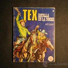 Cómics: TEX Nº 38 BATALLANEN LA NOCHE BURU LAN EDICIONES AÑO 1972. Lote 35873211