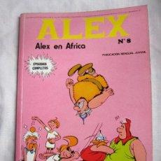 Cómics: ALEX Nº 8. ALEX EN AFRICA. BURU LAN. BURULAN EDICIONES 1973. MBE. Lote 35910304