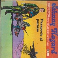 Cómics: JOHNNY HAZARD. BURU LAN 1973. LOTE DE 7 EJEMPLARES: 1,2,3,4,6,7 Y 8.. Lote 35942798