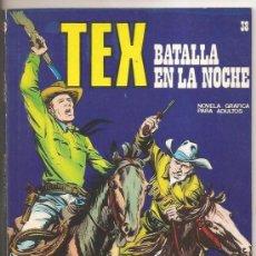 Cómics: TEX Nº 38 BURU LAN – BATALLA EN LA NOCHE. Lote 35997931
