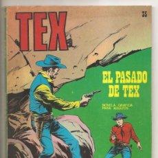 Cómics: TEX Nº 35 BURU LAN – EL PASADO DE TEX. Lote 35998047