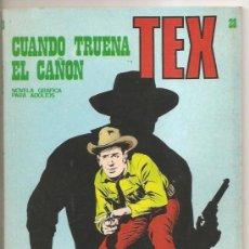 Cómics: TEX Nº 28 BURU LAN – CUANDO TRUENA EL CAÑON. Lote 35998487