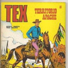 Cómics: TEX Nº 23 BURU LAN – TERRITORIO APACHE. Lote 35998735