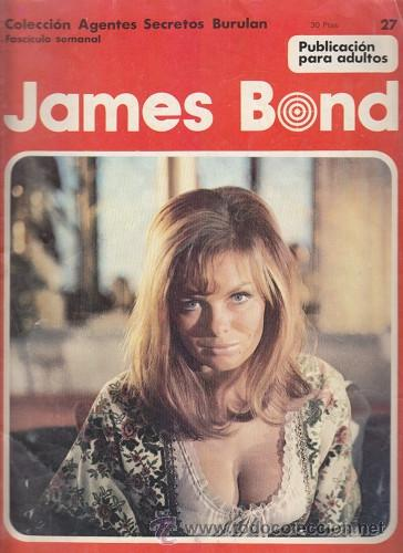 JAMES BOND 27 – COLECCION AGENTES SECRETOS BURULAN FASCICULO SEMANAL BURU LAN (Tebeos y Comics - Buru-Lan - James Bond)
