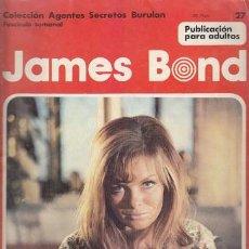 Cómics: JAMES BOND 27 – COLECCION AGENTES SECRETOS BURULAN FASCICULO SEMANAL BURU LAN. Lote 36046461