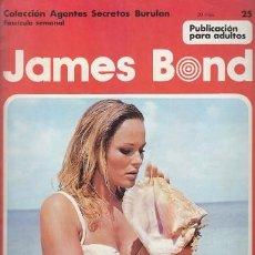 Cómics: JAMES BOND 25 – COLECCION AGENTES SECRETOS BURULAN FASCICULO SEMANAL BURU LAN. Lote 36046472