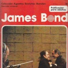 Cómics: JAMES BOND 16 – COLECCION AGENTES SECRETOS BURULAN FASCICULO SEMANAL BURU LAN. Lote 36046475