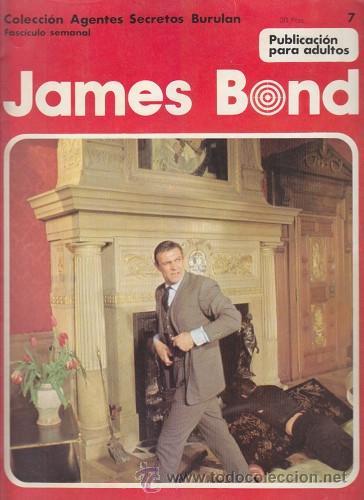JAMES BOND 7 – COLECCION AGENTES SECRETOS BURULAN FASCICULO SEMANAL BURU LAN (Tebeos y Comics - Buru-Lan - James Bond)