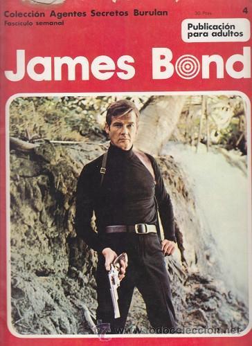 JAMES BOND 4 – COLECCION AGENTES SECRETOS BURULAN FASCICULO SEMANAL BURU LAN (Tebeos y Comics - Buru-Lan - James Bond)