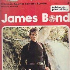 Cómics: JAMES BOND 4 – COLECCION AGENTES SECRETOS BURULAN FASCICULO SEMANAL BURU LAN. Lote 36046491